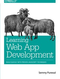 Learning Web App Development (Paperback)-cover