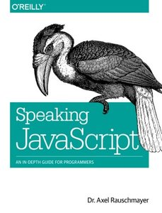 Speaking JavaScript (Paperback)-cover