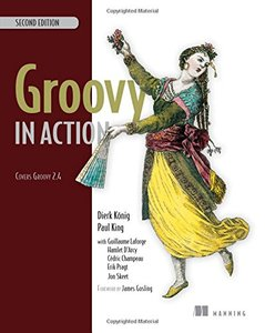 Groovy in Action, 2/e (Paperback)-cover