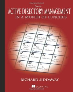 Learn Active Directory Management in a Month of Lunches (Paperback)-cover