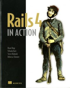 Rails 4 in Action: Revised Edition of Rails 3 in Action, 2/e (Paperback)-cover