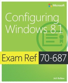 Exam Ref 70-687: Configuring Windows 8.1 (Paperback)-cover