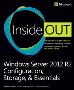 Windows Server 2012 R2 Inside Out: Configuration, Storage, & Essentials (Paperback)-cover