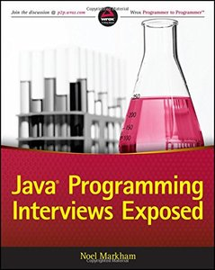 Java Programming Interviews Exposed (Paperback)-cover