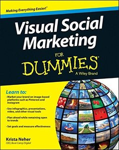 Visual Social Marketing For Dummies (Paperback)-cover