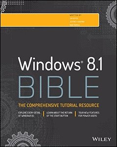 Windows 8.1 Bible (Paperback)-cover