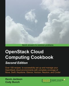 OpenStack Cloud Computing Cookbook, 2/e (Paperback)-cover