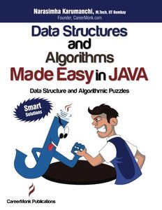 Data Structures and Algorithms Made Easy in Java: Data Structure and Algorithmic Puzzles, 2/e (Paperback)-cover
