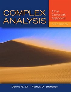 Complex Analysis: A First Course with Applications (Hardcover)-cover