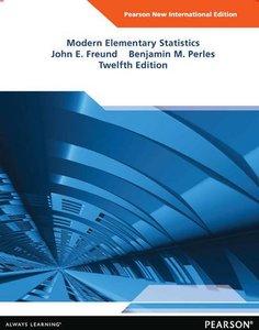 Modern Elementary Statistics, 12/e (IE-Paperback)