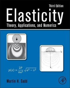 Elasticity: Theory, Applications, and Numerics, 3/e (Hardcover)-cover
