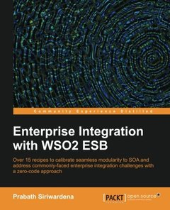 Enterprise Integration with WSO2 ESB (Paperback)-cover