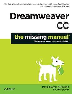 Dreamweaver CC: The Missing Manual (Paperback)-cover