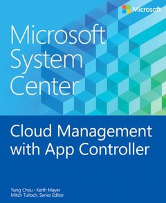 Microsoft System Center: Cloud Management with App Controller (Paperback)-cover