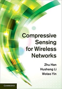 Compressive Sensing for Wireless Networks (Hardcover)-cover