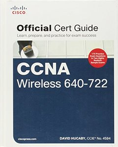 CCNA Wireless 640-722 Official Cert Guide (Hardcover)-cover
