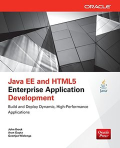 Java EE and HTML5 Enterprise Application Development (Paperback)-cover