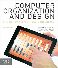 Computer Organization and Design MIPS Edition: The Hardware/Software Interface, 5/e  (美國原版)-cover