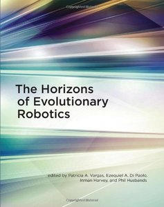The Horizons of Evolutionary Robotics (Hardcover)-cover