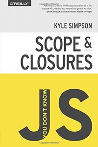 You Don't Know JS: Scope & Closures (Paperback)-cover
