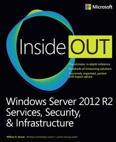 Windows Server 2012 R2 Inside Out Volume 2: Services, Security, & Infrastructure (Paperback)-cover
