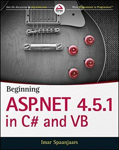 Beginning ASP.NET 4.5.1: in C# and VB (Paperback)-cover