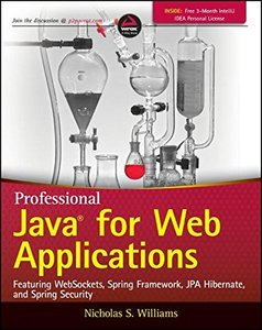 Professional Java for Web Applications (Paperback)-cover