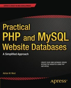 Practical PHP and MySQL Website Databases: A Simplified Approach (Paperback)-cover