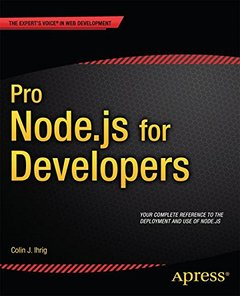 Pro Node.js for Developers-cover