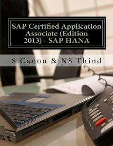 SAP Certified Application Associate (Edition 2013) - SAP HANA (Paperback)-cover