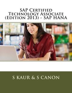 SAP Certified Technology Associate (Edition 2013) - SAP HANA (Paperback)-cover