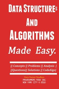 Data Structures And Algorithms. Made Easy... (Paperback)-cover