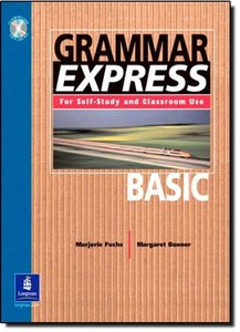 Grammar Express Basic: For Self-Study and Classroom Use (With Answer Key)-cover