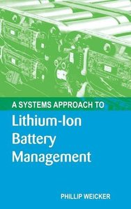 A Systems Approach to Lithium-Ion Battery Management (Hardcover)-cover