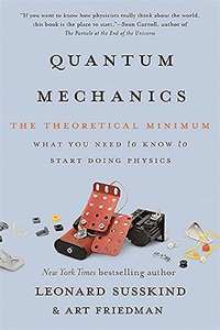 Quantum Mechanics: The Theoretical Minimum (Paperback)-cover