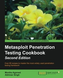 Metasploit Penetration Testing Cookbook, 2/e (Paperback)-cover