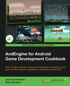 AndEngine for Android Game Development Cookbook (Paperback)-cover
