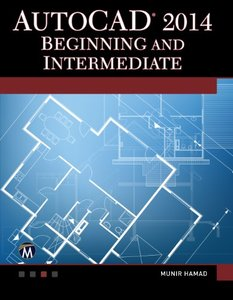 AutoCAD 2014 Beginning and Intermediate (Paperback)-cover