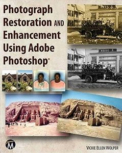 Photograph Restoration and Enhancement Using Adobe Photoshop (Paperback)-cover
