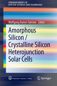 Amorphous Silicon / Crystalline Silicon Heterojunction Solar Cells (Paperback)-cover