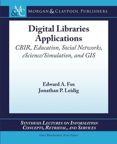 Digital Libraries Applications (Paperback)-cover