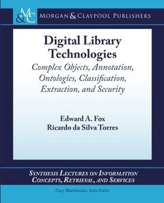 Digital Library Technologies (Paperback)-cover