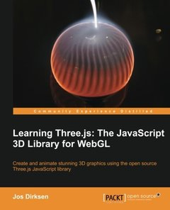 Learning Three.js: The JavaScript 3D Library for WebGL (Paperback)-cover