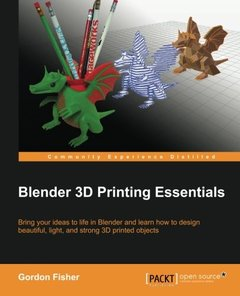 Blender 3D Printing Essentials Paperback-cover