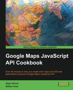 Google Maps JavaScript API Cookbook (Paperback)-cover