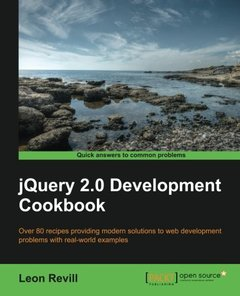 JQuery 2.0 Development Cookbook (Paperback)-cover