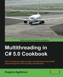 Multithreading in C# 5.0 Cookbook (Paperback)-cover