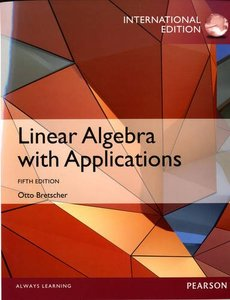 Linear Algebra with Applications, 5/e (IE-Paperback)-cover