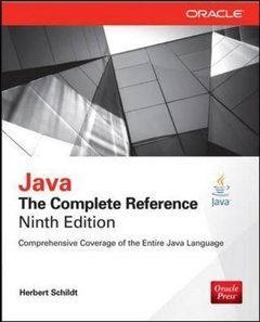 Java: The Complete Reference, 9/e (Paperback)-cover