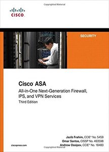 Cisco ASA: All-in-one Next-Generation Firewall, IPS, and VPN Services, 3/e (Paperback)-cover